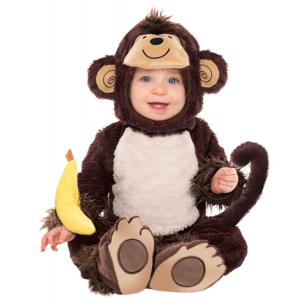 Monkey Around Baby Infant Costume - Baby 12-24