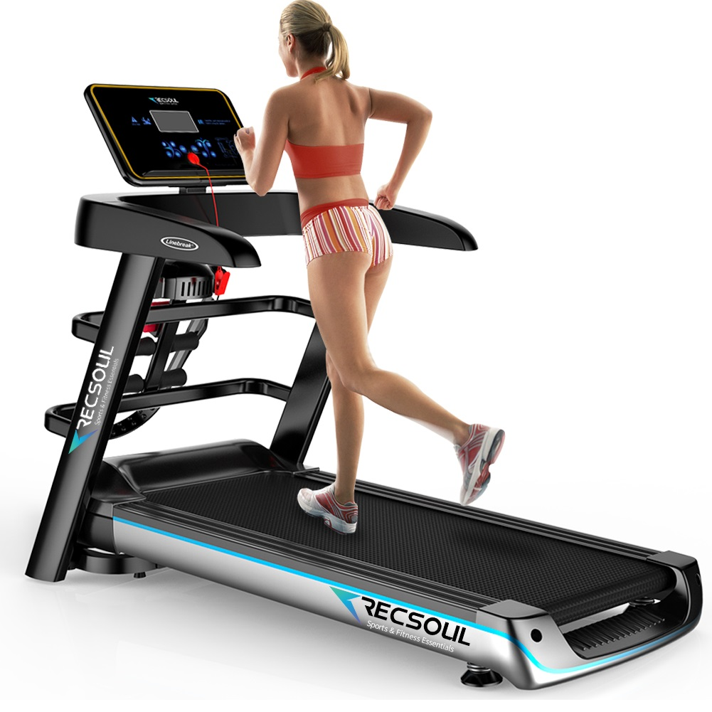RESOUL Folding Treadmill,A6 Multiple Function Treadmill with Bluetooth