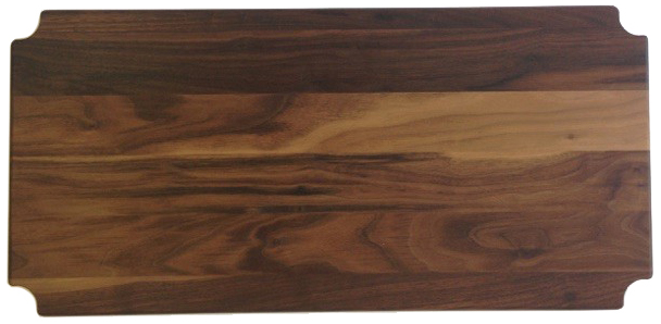 "12"" Deep x 36"" Wide Walnut Butcher Block by Omega Products Corp."