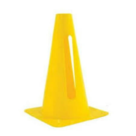 Everrich Evb 0093 9 In  Height Plastic Cone  44  Yellow