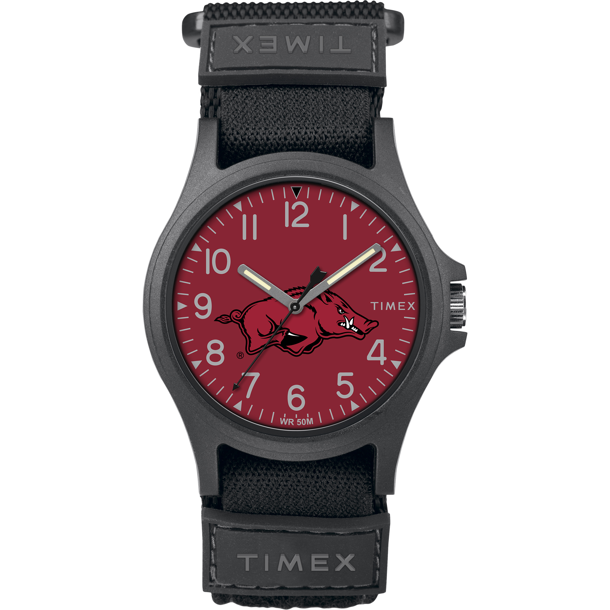 Timex - NCAA Tribute Collection Pride Men's Watch, University of Arkansas Razorbacks