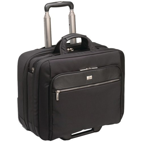 "Case Logic CLRS-117 Carrying Case (Roller) for 17.3"" Notebook - Black"