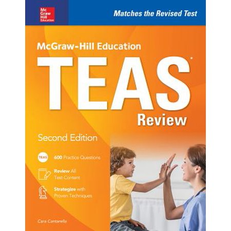 McGraw-Hill Education Teas Review, Second Edition