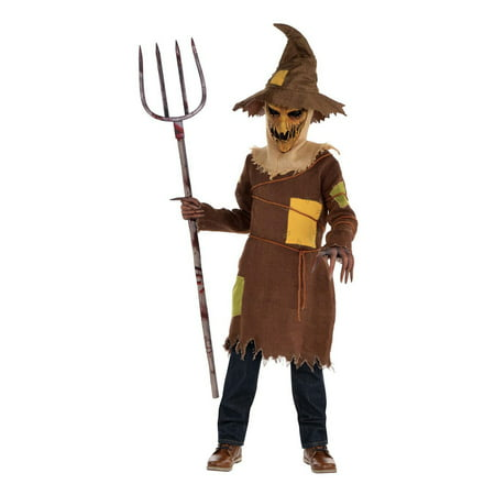 Extremely Scary Halloween Costumes (Scary Scarecrow Child Costume)