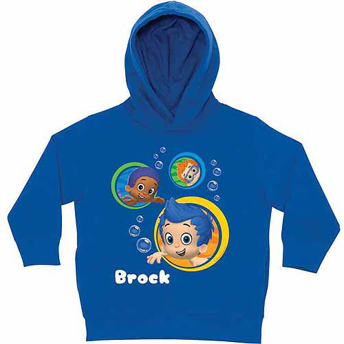 Personalized Bubble Guppies Guppy Boys Toddlers' Blue Hoodie