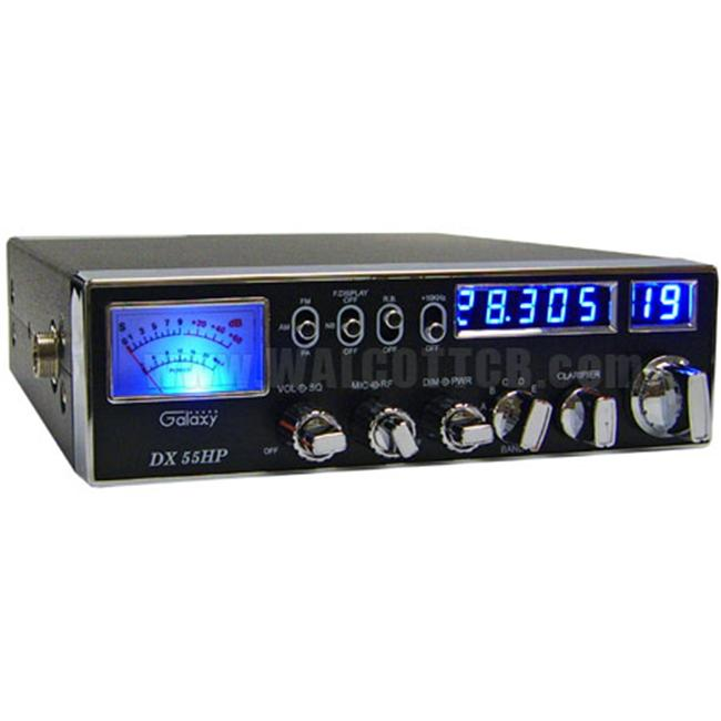 Galaxy DX55HP 10 Meter Radio with Blue Led And Dual Mosfet
