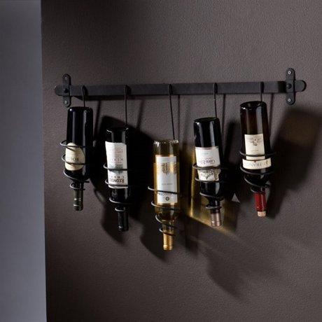 Southern Enterprises Almeria Wall Mount Wine Rack In