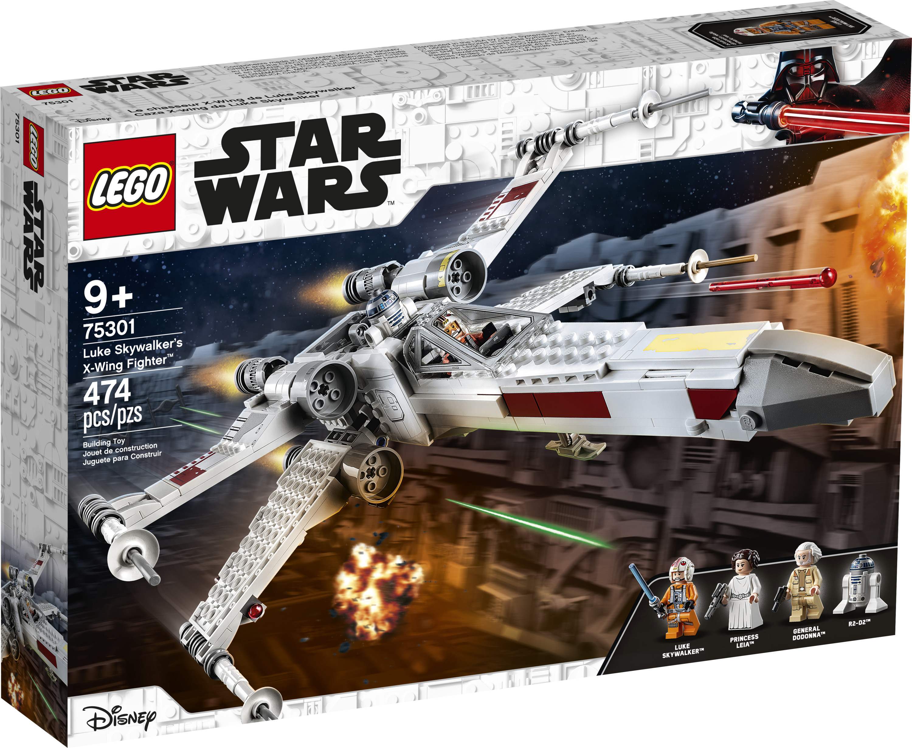 Buy Lego Star Wars Luke Skywalker S X Wing Fighter 75301 Awesome Building Toy For Kids 474 Pieces Online In Indonesia 722806422