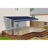 ALEKO 10'x8' Retractable Patio Awning, Multiple Colors