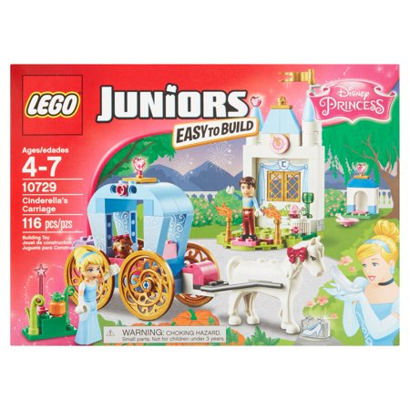 Lego Juniors Disney Princess Easy To Build Cinderellas Carriage Building Toy Ages 4 7