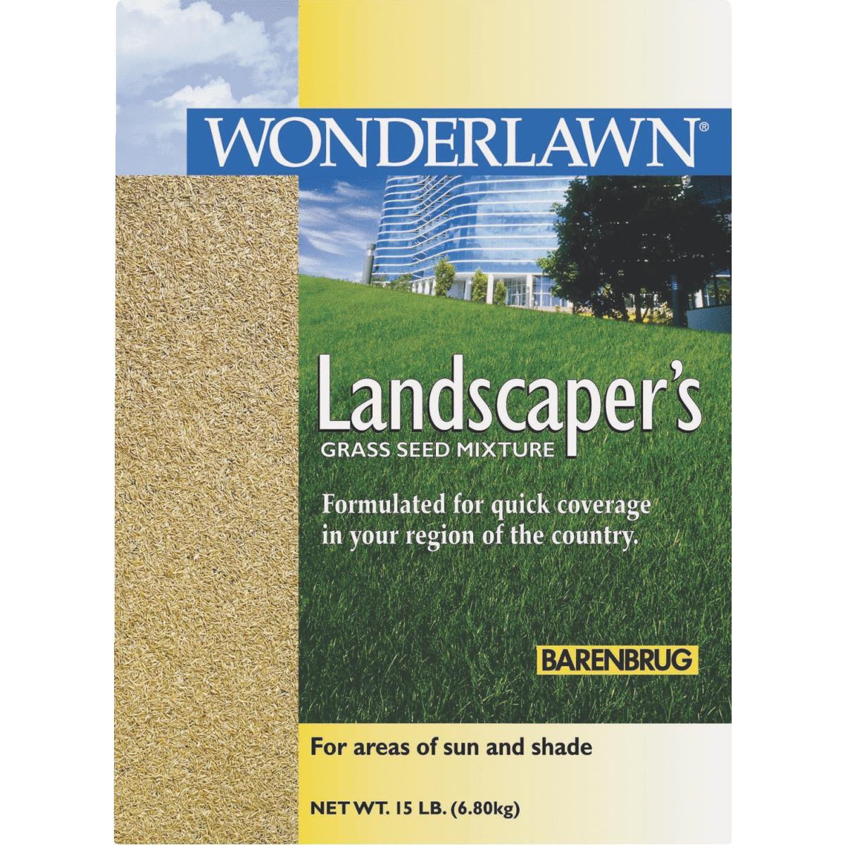 Barenbrug Wonderlawn Landscaper's Grass Seed