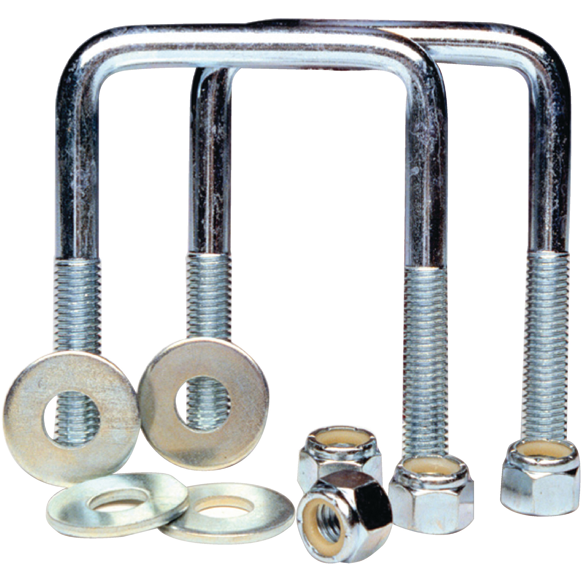 Tie Down Engineering Zinc Plated Square U-Bolt Kit