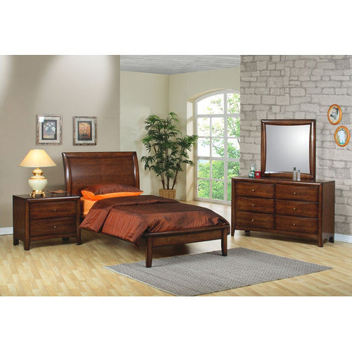 Bundle-24 Wildon Home   Scottsdale Platform Bedroom Collection (5 Pieces)