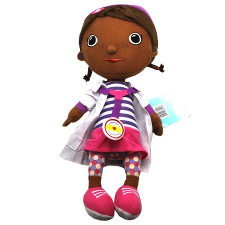 Disney's Doc McStuffins Stuffed Toy w/Zippered Head Pocket