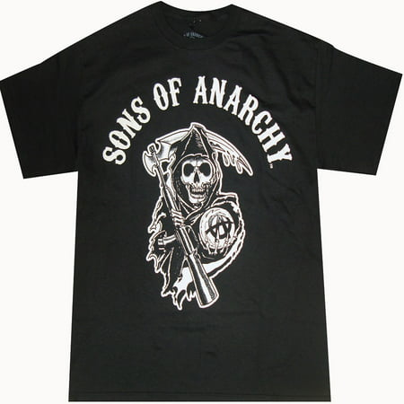 Sons of Anarchy Reaper Logo Adult T-Shirt
