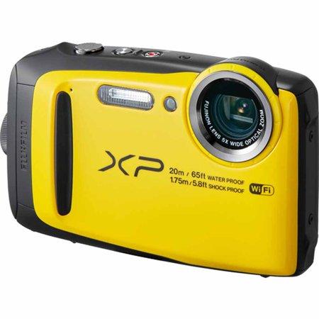 Fujifilm FinePix XP120 Digital Camera - Yellow - Frozen Camera