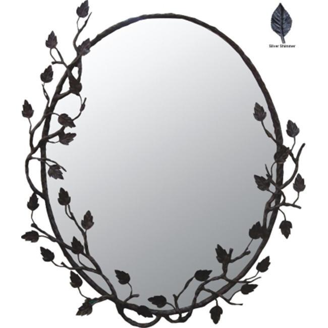 Quiescence AC-MIR-ASP-SS Aspen Mirror- Silver Shimmer