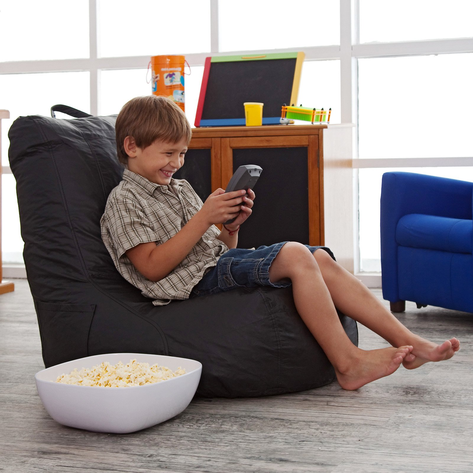 Vinyl Video Bean Bag Chair