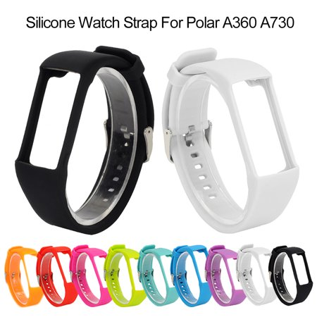 Soft Silicone Sport Band Replacement Wrist Strap Compatible For Polar A360 A730 GPS Smart Watch