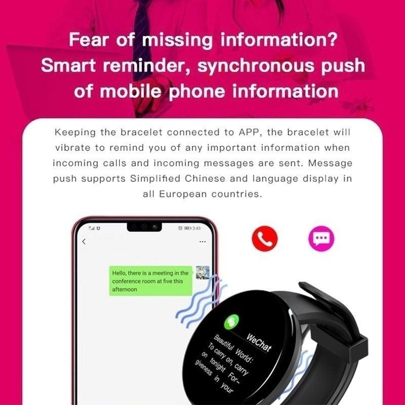Bluetooth Sports watch Rechargeable Heart rate Oxygen Pressure Sleep  Monitor blood pressure Passometer Alarm Clock Wrist Watch IP67 Waterproof  Sports Watch for IOS Android - Walmart.com - Walmart.com