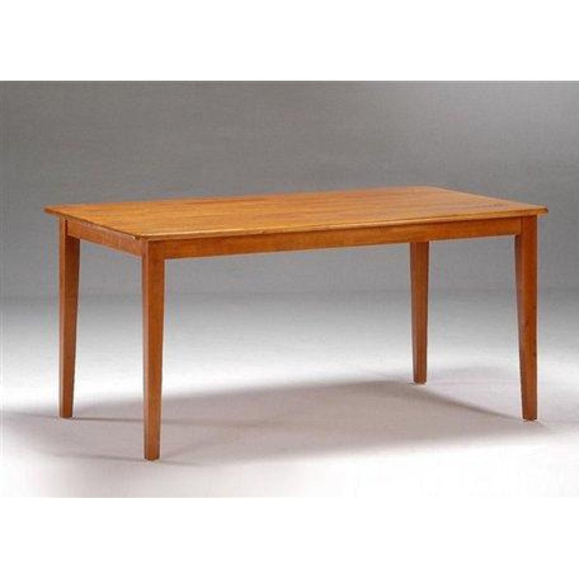 Boraam Shaker Dining Table Walnut Walmart