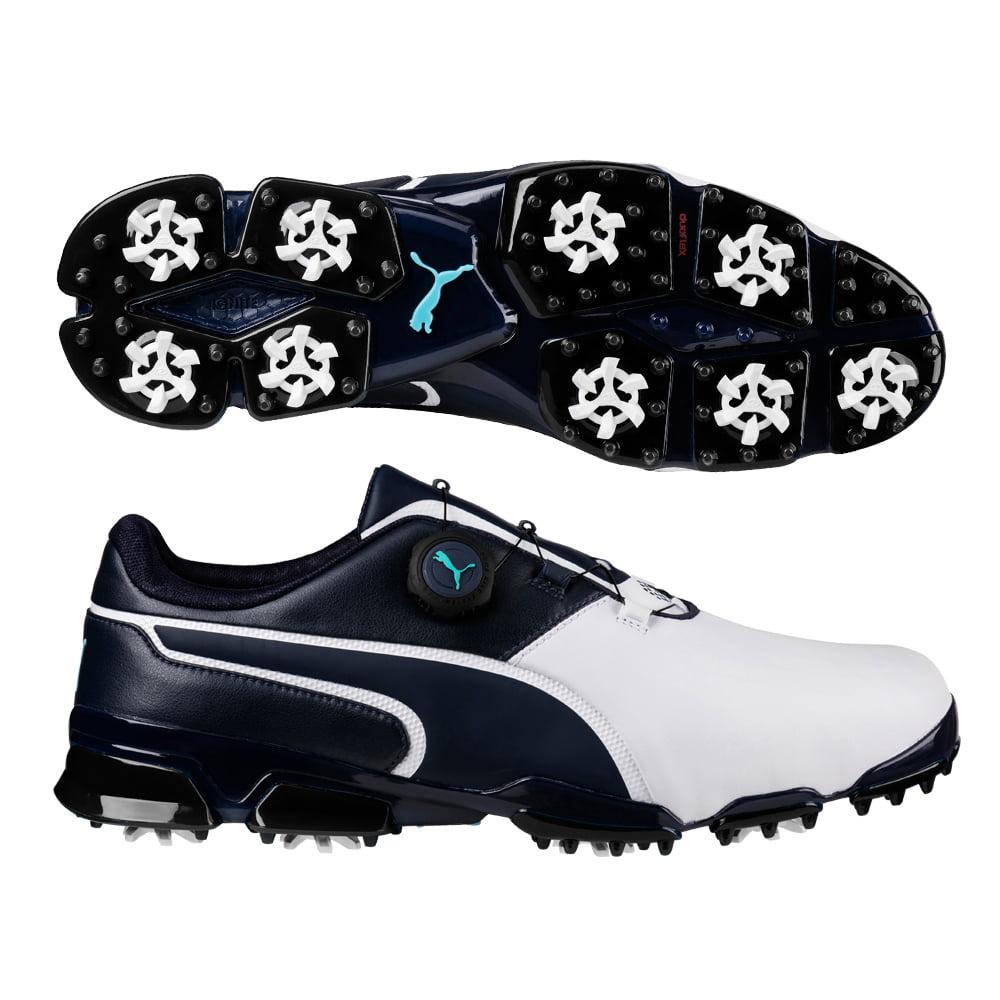 2f32015d326d86 Puma 2017 Titantour Ignite Disc Golf Shoes (Black Shade) - Walmart.com