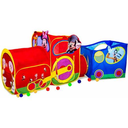 Playhut disney mickey mouse choo choo express train for Disney mickey mouse motorized choo choo train with tracks