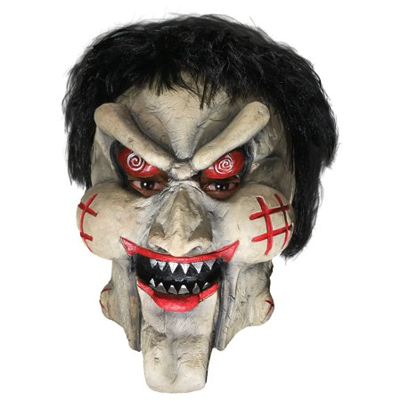 Horror Puppet Mask Adult Costume Accessory