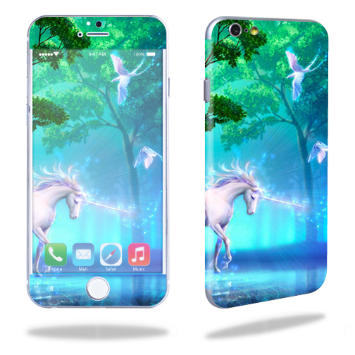 Skin Decal Wrap for Apple iPhone 6/6S stickers Unicorn Fantasy