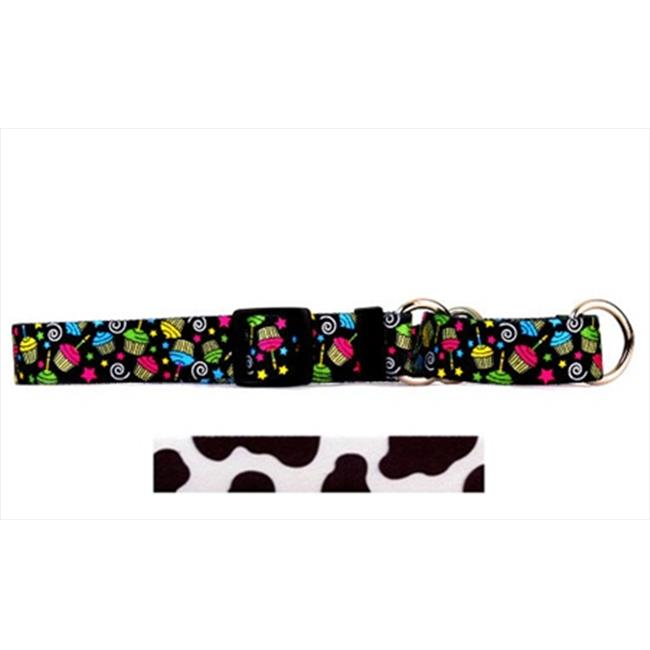 Yellow Dog Design M-COW102M Cow Martingale Collar - Medium