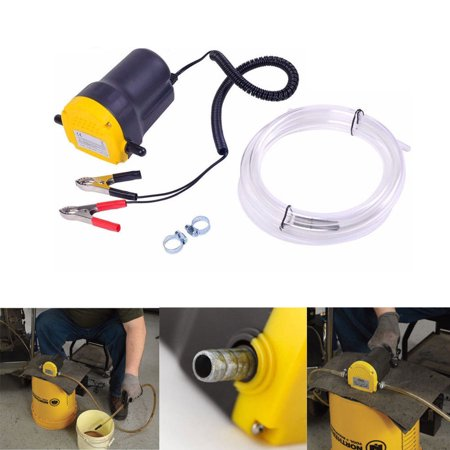 Ktaxon New 12V 5A Oil Diesel Fluid Extractor Electric Transfer Scavenge  Suction Pump US | Walmart Canada