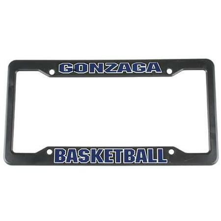 Gonzaga Bulldogs Plastic License Plate Frame - Basketball