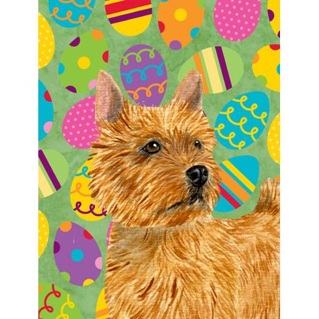 Norwich Terrier Easter Eggtravaganza Flag