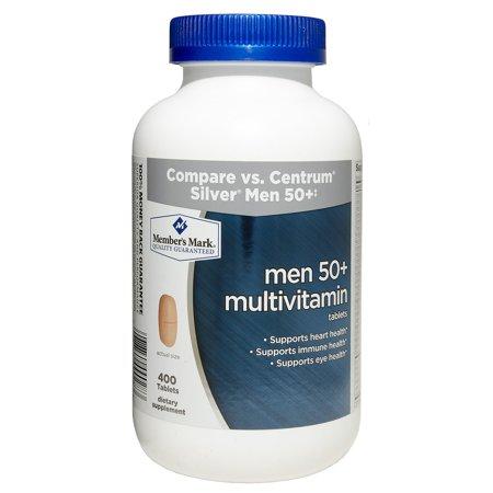 Member's Mark Men 50+ Multivitamin Dietary Supplement (400