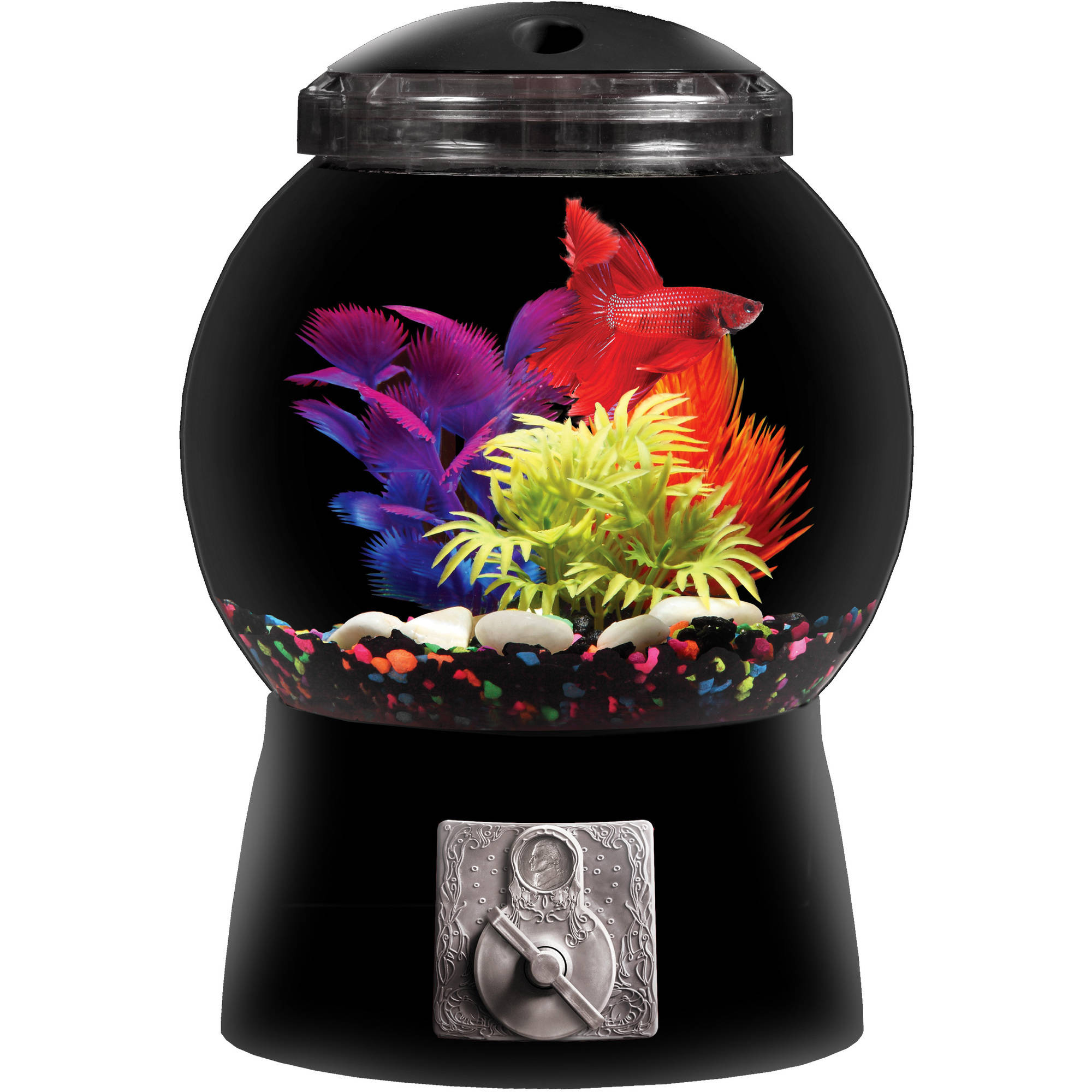 Aqua Culture 1.5 Gallon Gumball Aquarium Kit by Kollercraft