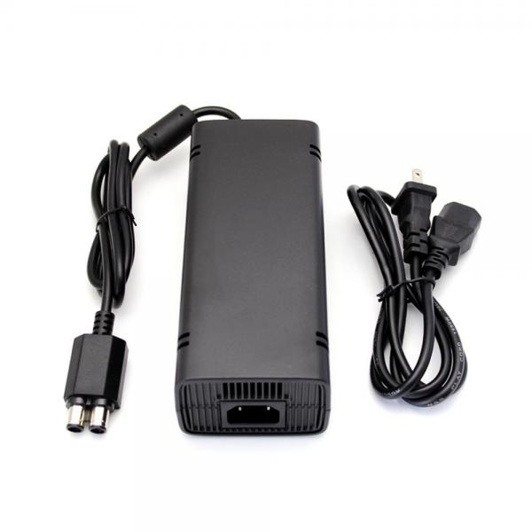LiKe Replacement Xbox 360 Slim Power Supply Adapter Charger Auto Voltage Best Black