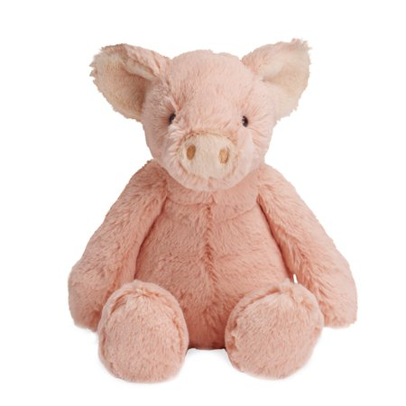 "Lovelies Pink Piper Pig Plush, 12"", Lindy Lamb plush toy features an incredibly soft plush fabric that is irresistible to the touch By Manhattan Toy"