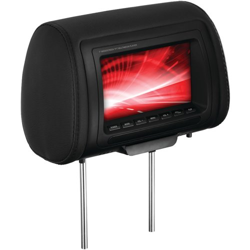 "Boss Audio HIR70BGTM 7"" Headrest Monitor with IR Transmitter and 3 Interchangeable Covers"