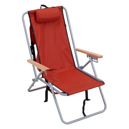 Rio wearever steel hi back backpack beach chair - Backpack chairs walmart ...