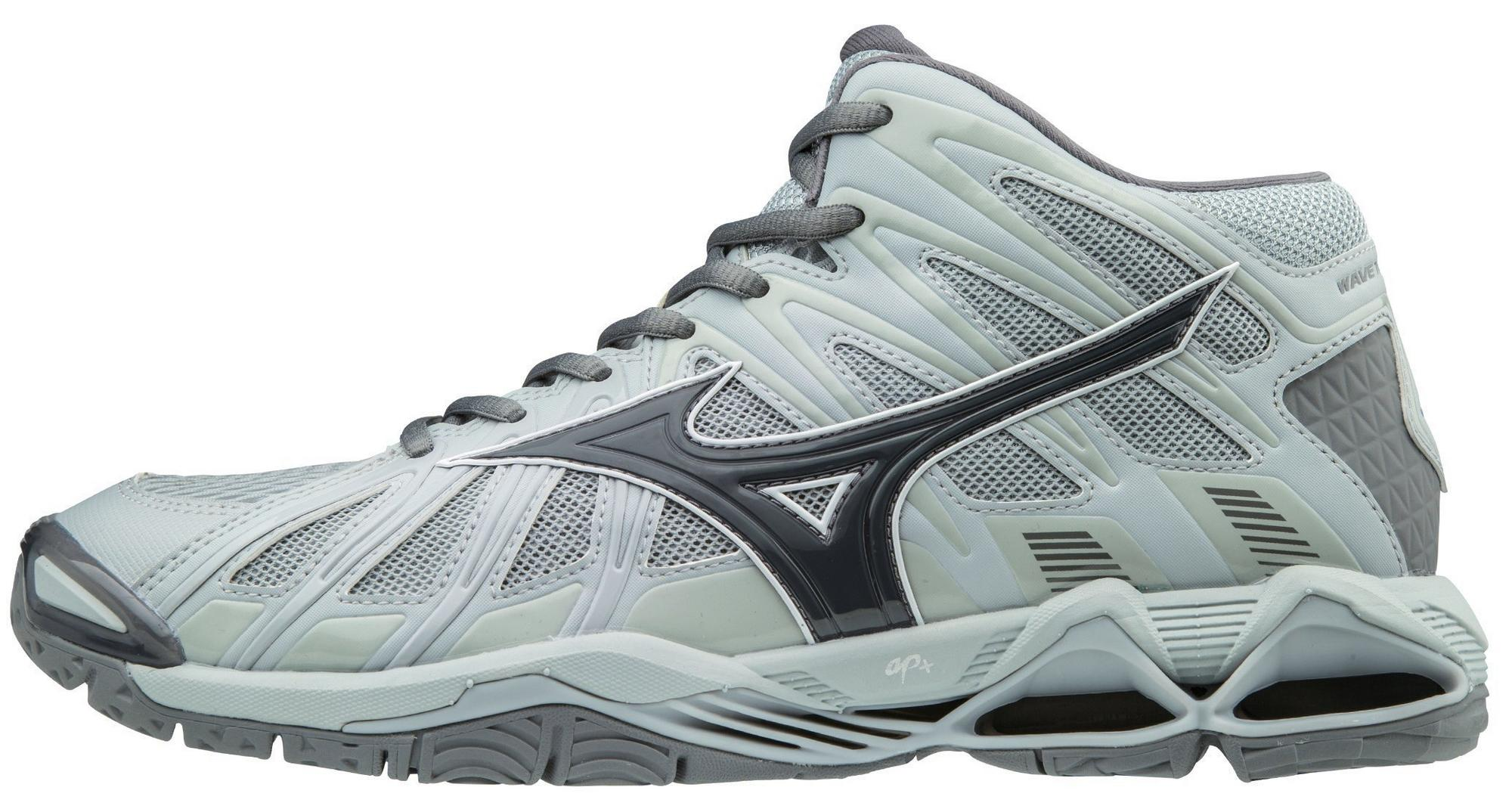 grey mizuno volleyball shoes kits