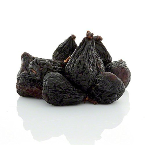 Anna and Sarah Dried Black Mission Figs in Resealable Bag, 2 Lbs by