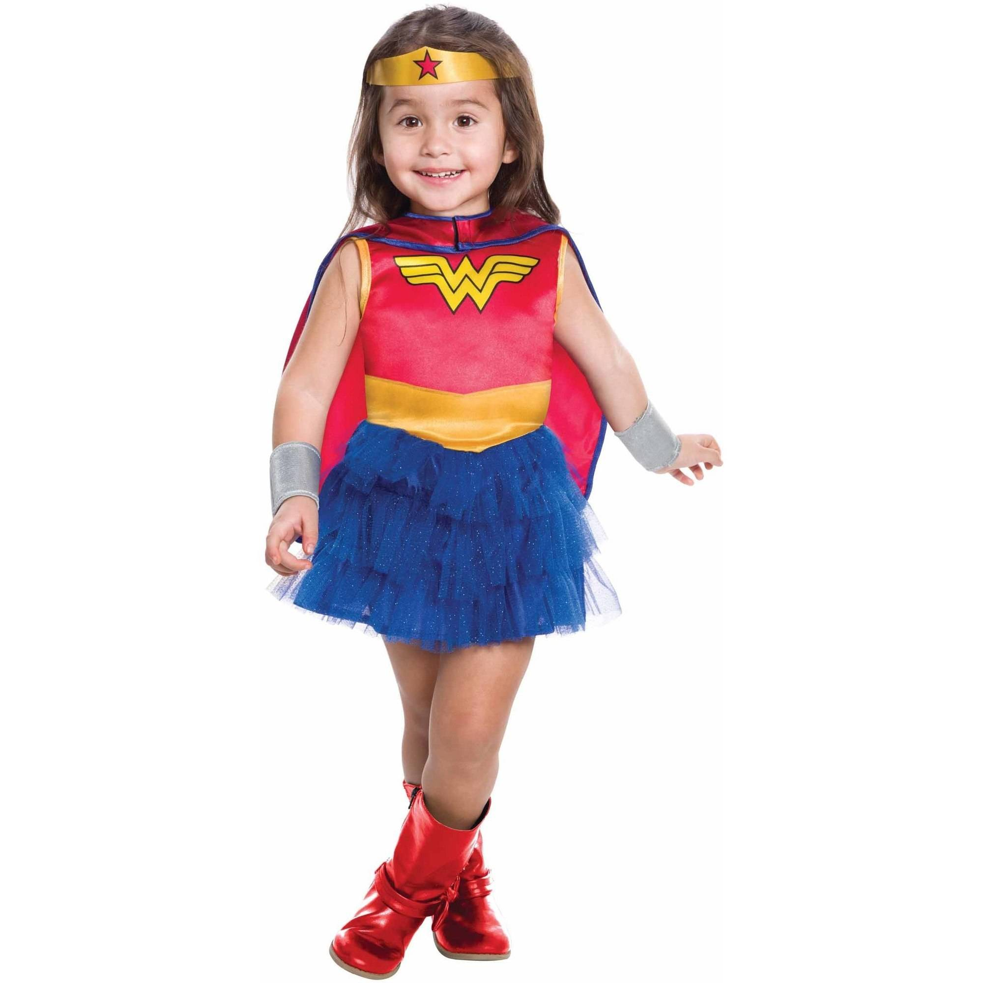 Wonder Woman Tutu Toddler's Costume, 3T-4T