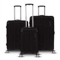 Deals on Gabbiano Bravo Collection 3-Piece Expandable Luggage Set