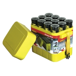 GREASE BOX: 12-PK CONT FOR GREASE CARTRIDGES