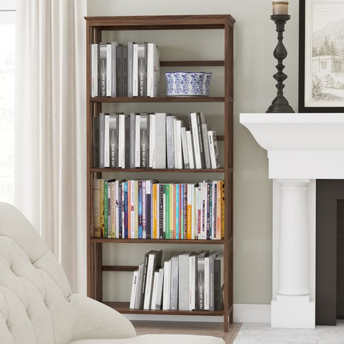 Alcott Hill 63'' Etagere Bookcase by