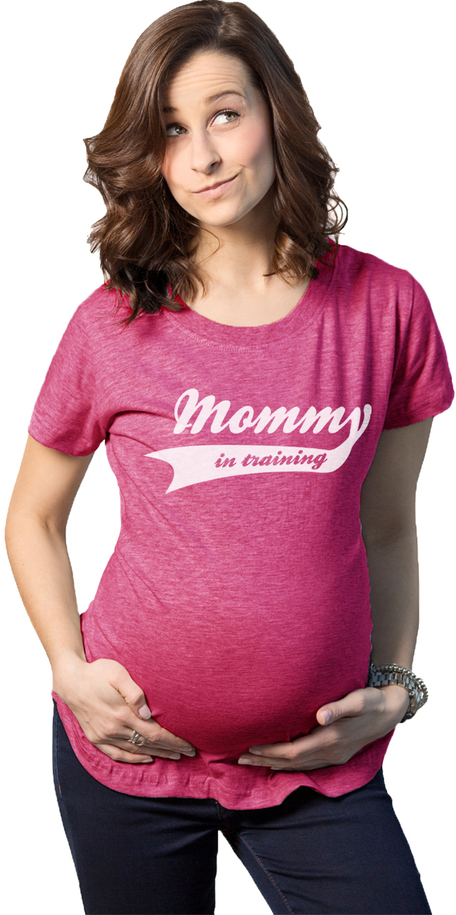 Crazy Dog TShirts - Maternity Mommy In Training Funny T shirts Im Pregnant Mothers Day Idea T shirt