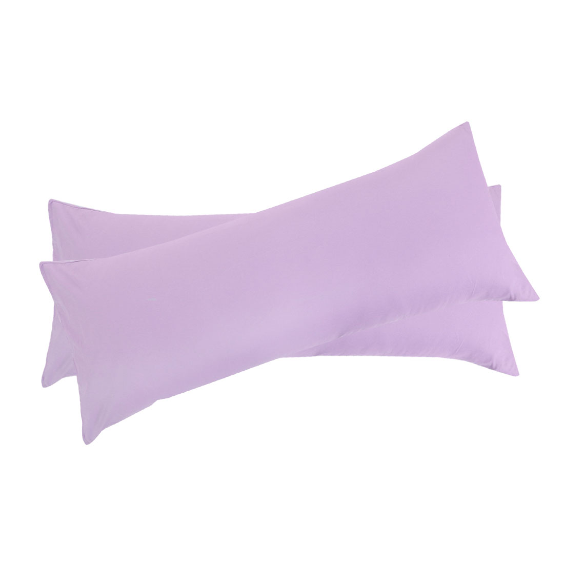 "Set of 2 Body Pillow Cover Long Soft Pillow Case for Body Pillows Violet 20""x72"" - image 7 of 7"
