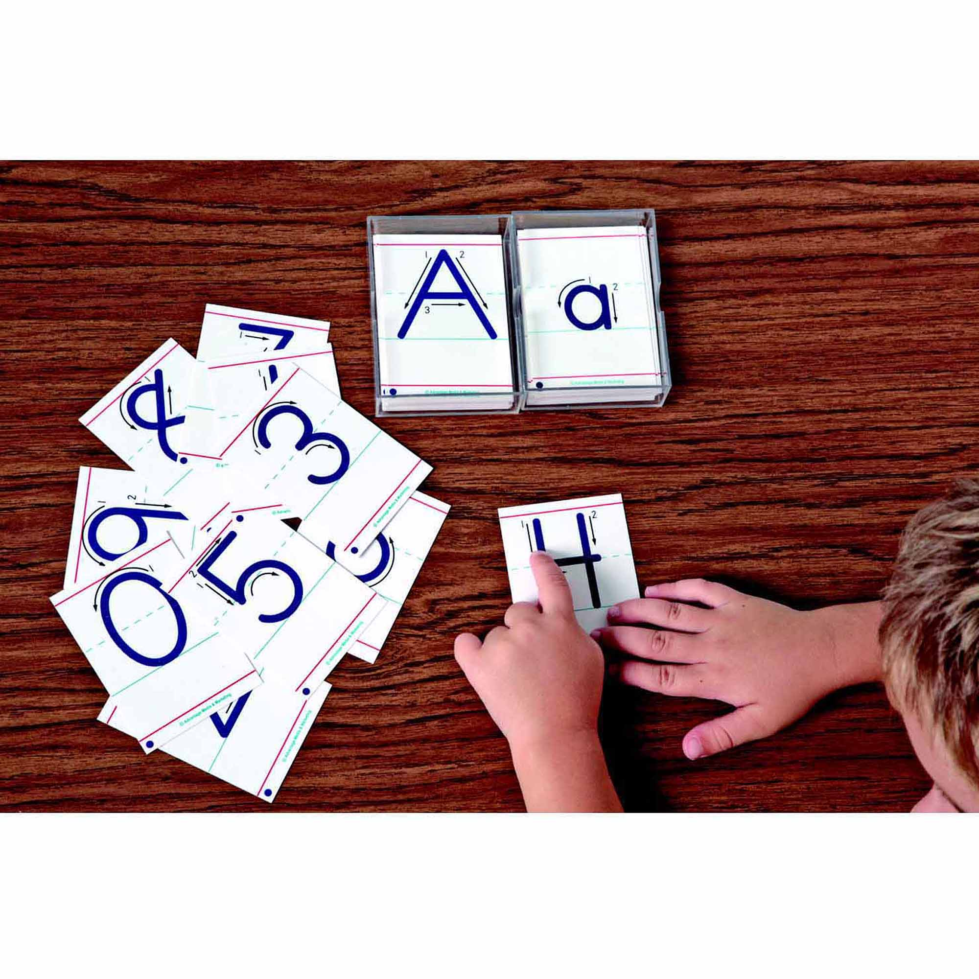Advantage Tactile Cards, Numbers