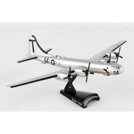 Daron Worldwide Trading Postage Stamp B-29 1/200 T Square 54 Museum of Flight Aircraft Model