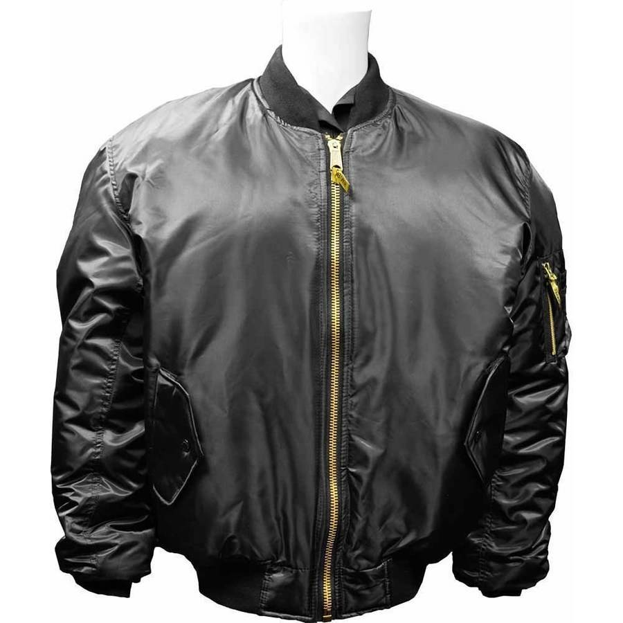 MA1 Water Repellent Flight Jacket with Reversible Emergency Inner Lining, Humvee, Available in Multiple Sizes and Colors